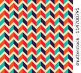 seamless geometric pattern with ... | Shutterstock .eps vector #114700792