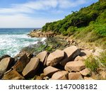 Rocky Shore At Brava Beach  In...