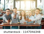 group of asian happy and bright ... | Shutterstock . vector #1147046348