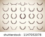 collection of twenty five... | Shutterstock .eps vector #1147052078