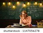 wisdom. wisdom of woman writer... | Shutterstock . vector #1147056278