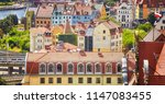 szczecin cityscape on a sunny... | Shutterstock . vector #1147083455