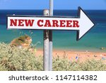 new career opportunity concept  ... | Shutterstock . vector #1147114382