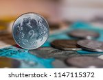indian currency coines of... | Shutterstock . vector #1147115372