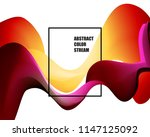 abstract colorful vector... | Shutterstock .eps vector #1147125092