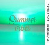 blurred background of seaside...   Shutterstock . vector #1147140152