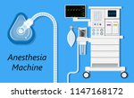 anesthesia medical surgical | Shutterstock .eps vector #1147168172