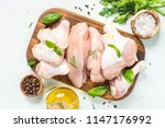 chicken fillet | Shutterstock . vector #1147176992