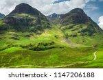 spectacular view over aonach... | Shutterstock . vector #1147206188