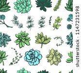 decorative color graphic... | Shutterstock .eps vector #1147231598