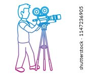 degraded line professional... | Shutterstock .eps vector #1147236905