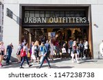 london  uk   july 31th 2018 ... | Shutterstock . vector #1147238738