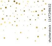 gold stars. confetti... | Shutterstock .eps vector #1147248632