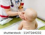 little cute baby boy visiting... | Shutterstock . vector #1147264232