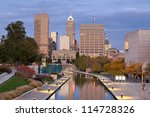 Indianapolis. Image Of Downtow...