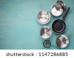 Set Of Kitchen Metallic Pans....