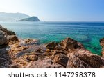view of the adriatic sea and... | Shutterstock . vector #1147298378