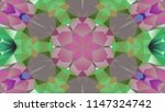 abstract colorful symmetric... | Shutterstock . vector #1147324742