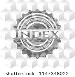 index grey emblem with... | Shutterstock .eps vector #1147348022
