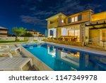 croatia  istria  pula  holiday... | Shutterstock . vector #1147349978