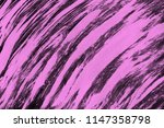 pink ink and watercolor... | Shutterstock . vector #1147358798