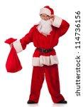 Funny Santa Clause Looking At...