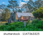 whaling station homestead ... | Shutterstock . vector #1147363325