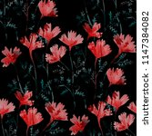 watercolor seamless pattern... | Shutterstock . vector #1147384082