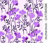 watercolor seamless pattern... | Shutterstock . vector #1147384088