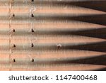 Rusted Galvanized Corrugated...