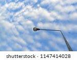 Street Lamp With Altocumulus...