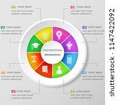 infographic design template... | Shutterstock .eps vector #1147422092