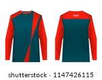 templates of sportswear designs ...   Shutterstock .eps vector #1147426115