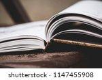 book still life | Shutterstock . vector #1147455908