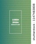 minimal geometric cover  vector ...   Shutterstock .eps vector #1147483808