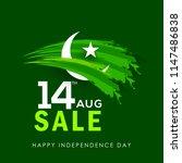 illustration of independence... | Shutterstock .eps vector #1147486838