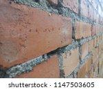 an old brick wall. ancient... | Shutterstock . vector #1147503605