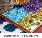 gem stone market chanthaburi...   Shutterstock . vector #1147503698