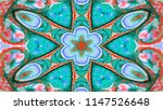 abstract paint brush ink... | Shutterstock . vector #1147526648
