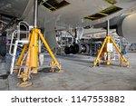 aircraft  airplane  lift up... | Shutterstock . vector #1147553882
