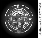 land on grey camo texture | Shutterstock .eps vector #1147575638