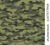 camouflage seamless pattern.... | Shutterstock .eps vector #1147577945