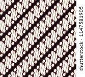 seamless batik pattern from... | Shutterstock .eps vector #1147581905