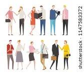 flat design style vector... | Shutterstock .eps vector #1147583372