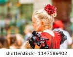 malaga  spain   august 11  2012 ... | Shutterstock . vector #1147586402