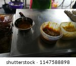a variety of roti canai with... | Shutterstock . vector #1147588898