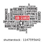job search background text | Shutterstock .eps vector #1147595642