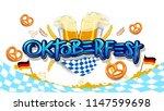 oktoberfest beer festival ...   Shutterstock .eps vector #1147599698