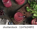 flat lay composition with... | Shutterstock . vector #1147624892