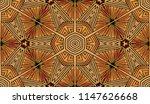 seamless striped vector pattern.... | Shutterstock .eps vector #1147626668